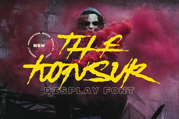Konsur Font example image 1
