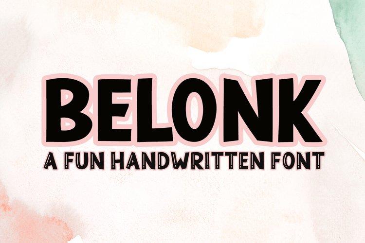 Belonk example image 1