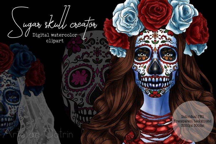 Sugar Skull Creator, Catrina, Santa Muerte