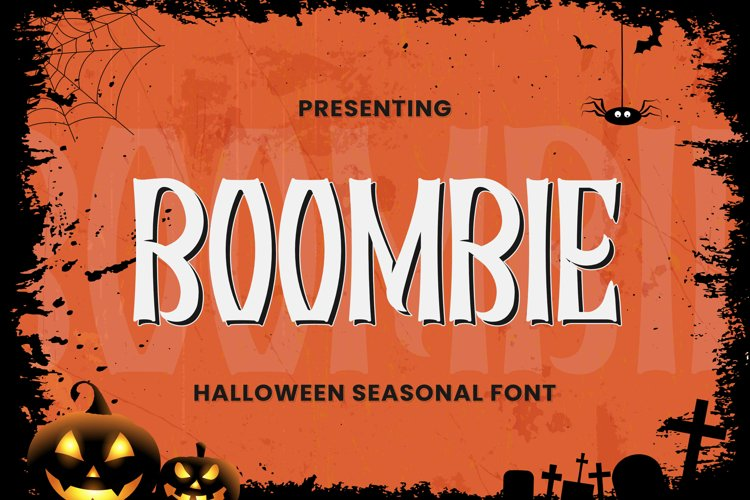 Boombie Font example image 1