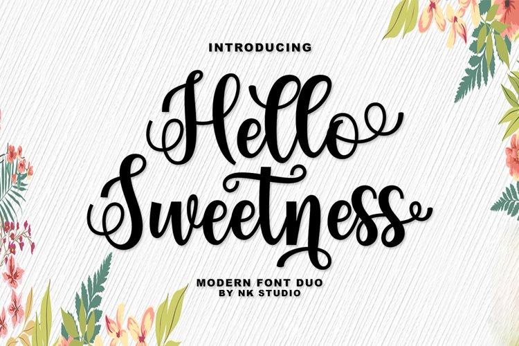 Hello Sweetness example image 1
