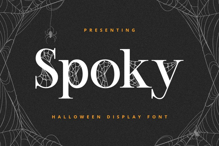 SPOKY Font example image 1