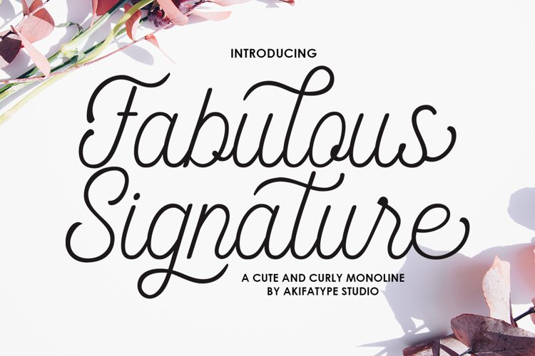 Fabulous Signature