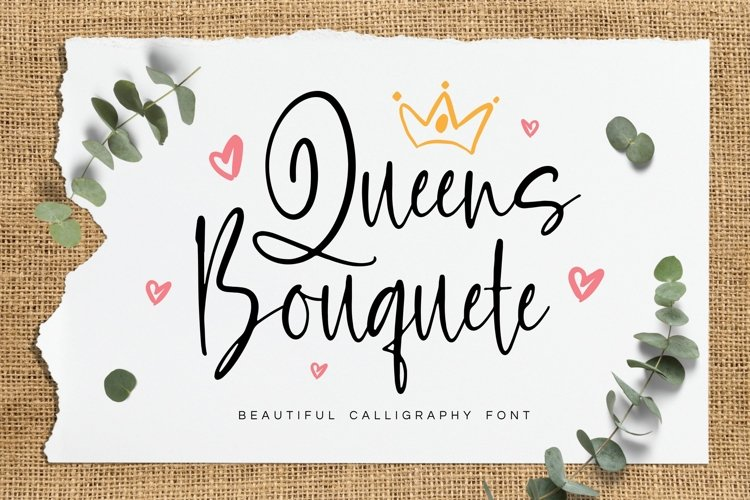 Queens Bouquete Font example image 1