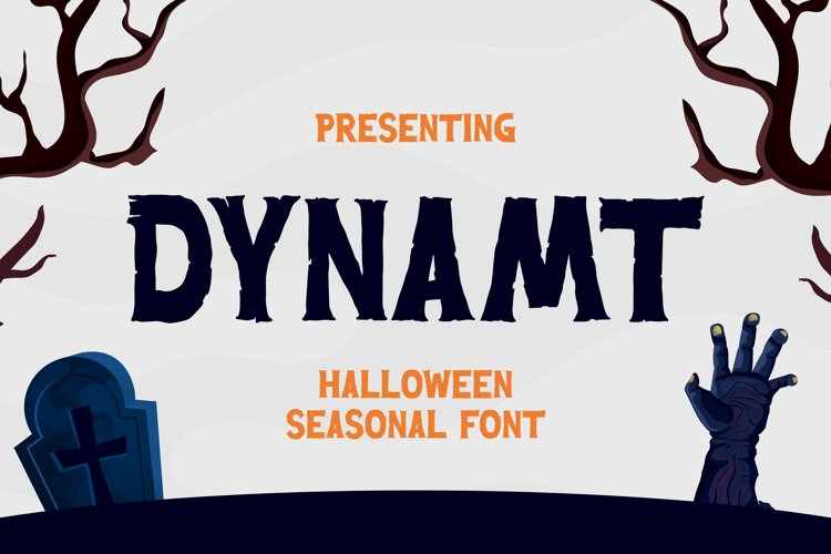 Dynamt Font example image 1