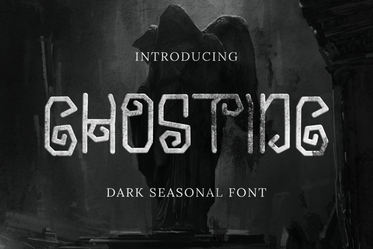 Ghosting Font example image 1