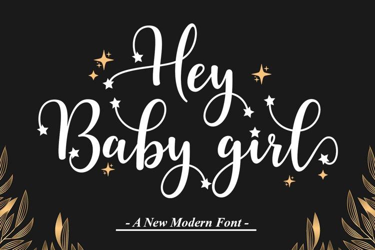 Hey Baby Girl example image 1