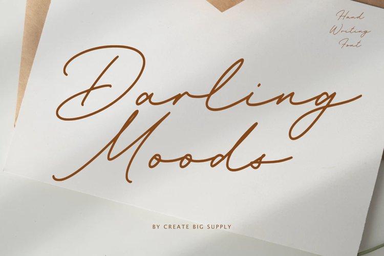Darling Moods - Natural Handwriting example image 1