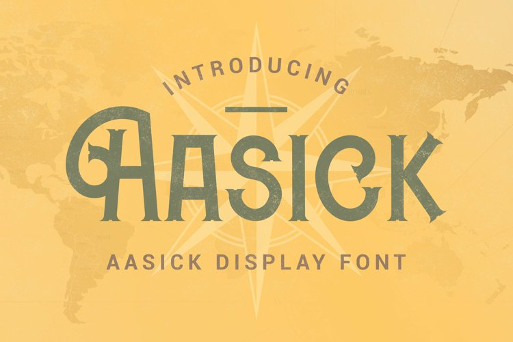 Aasick Font example image 1
