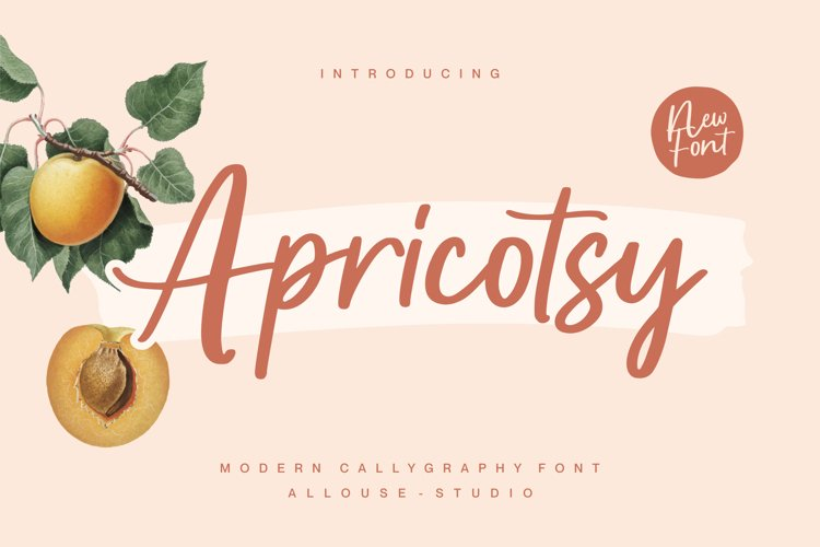 Apricotsy Font example image 1