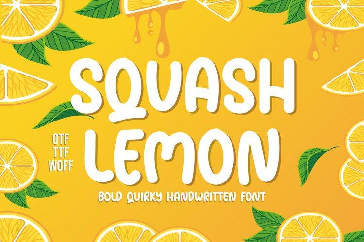 Squash Lemon example image 1
