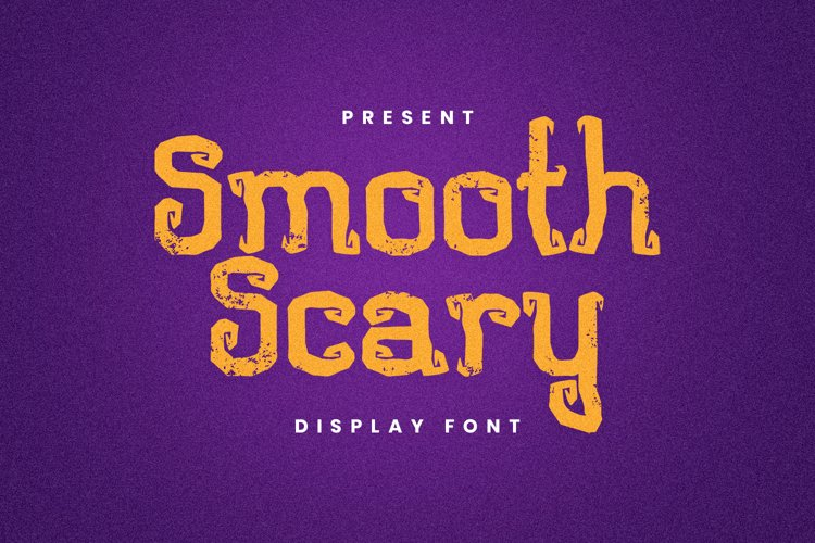 Smooth Scary Font example image 1