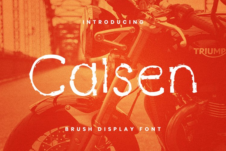 Calsen Font example image 1