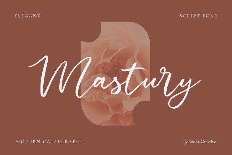 Mastury - Modern Calligraphy example image 1