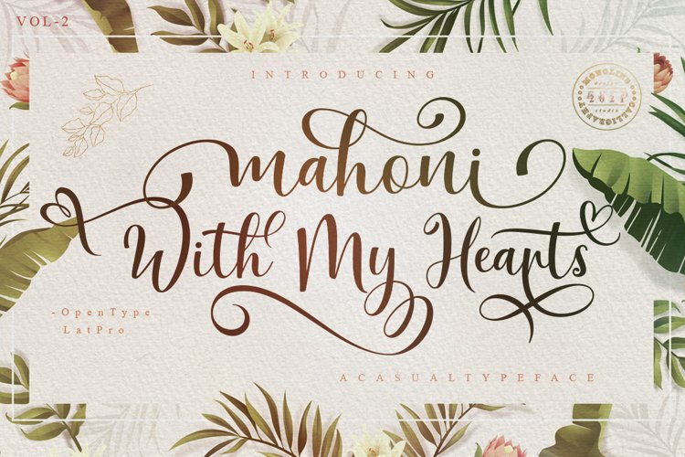 Mahoni With My Hearts example image 1