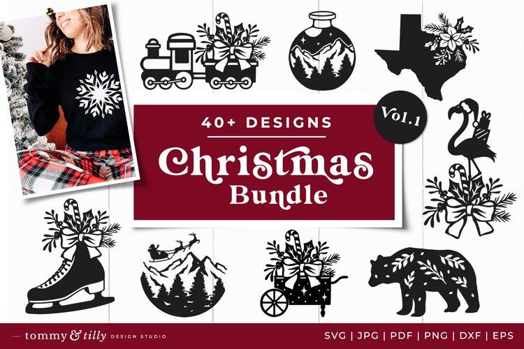 Vol.1 Christmas Bundle SVG Bundle Cut Files example image 1