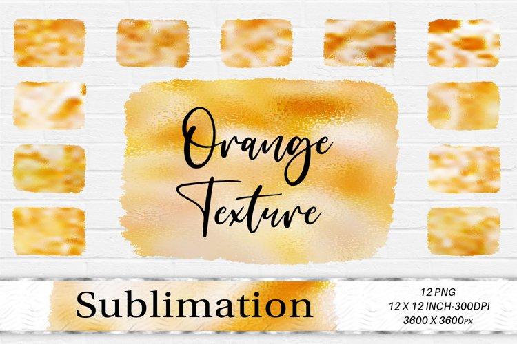 Sublimation Design, Orange foil Background