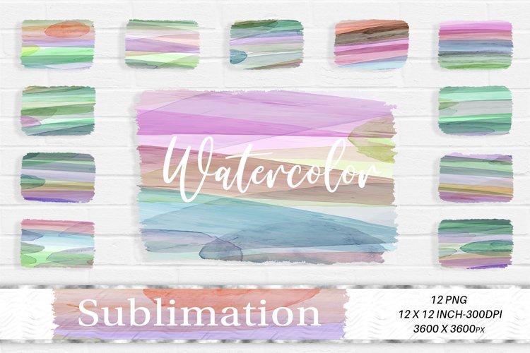Sublimation Design, Watercolor Background