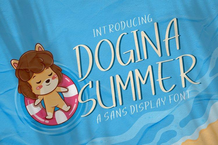 Dogina Summer example image 1