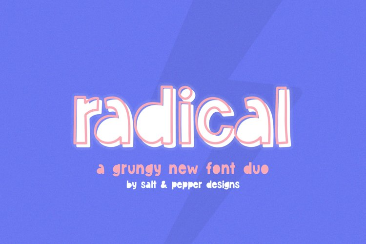 Radical Font Duo example image 1