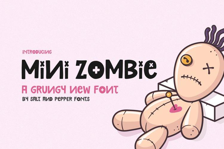 Mini Zombie Font example image 1