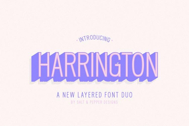 Harrington Font Family example image 1