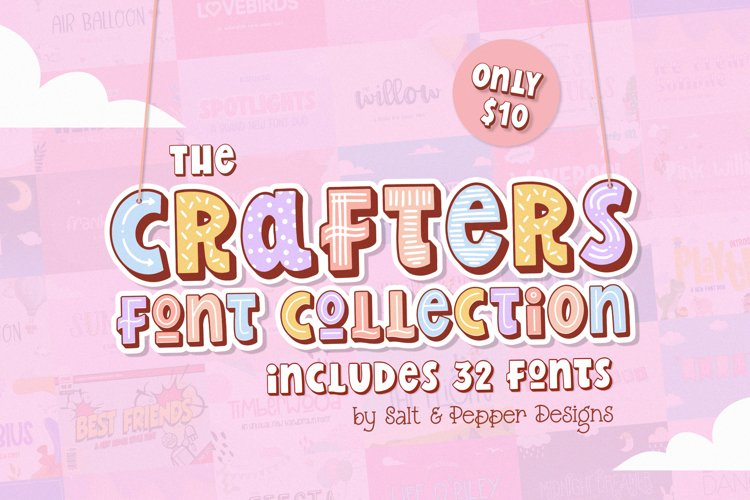 The Crafters Font Collection example image 1