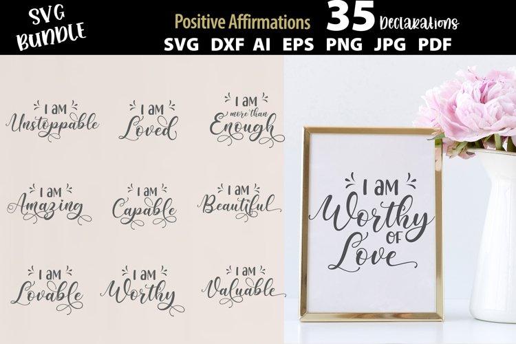 Positive Affirmations SVG Mega Bundle