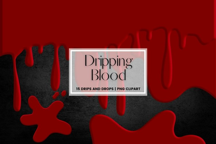 Dripping Blood Border Clipart