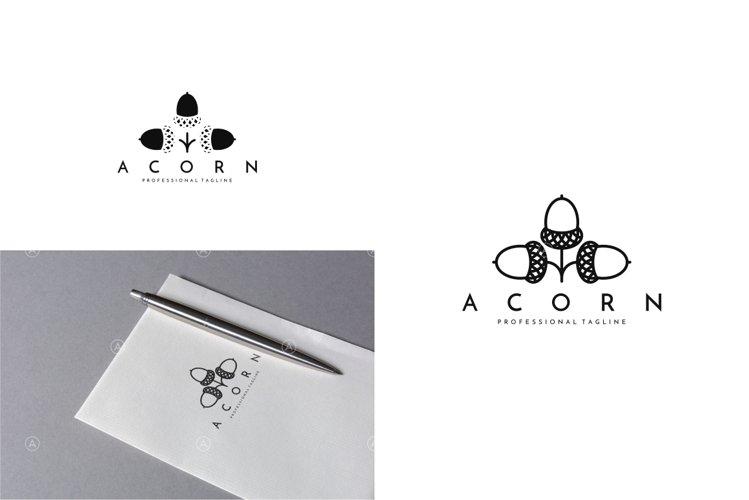 Acorn Logo Template | Oak Tree