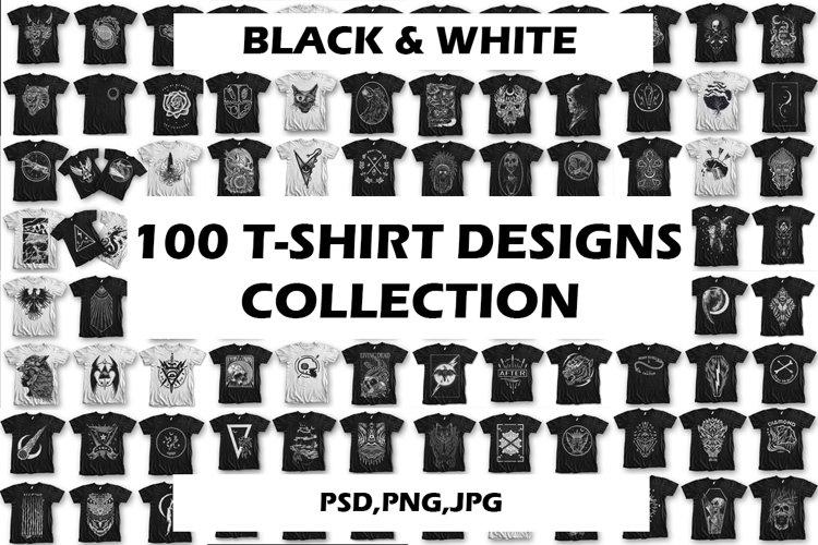 100 T-Shirt Designs | Collection | Apparel | Merchandise