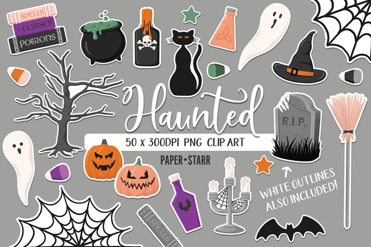 Halloween Clipart, Halloween Sublimation PNG