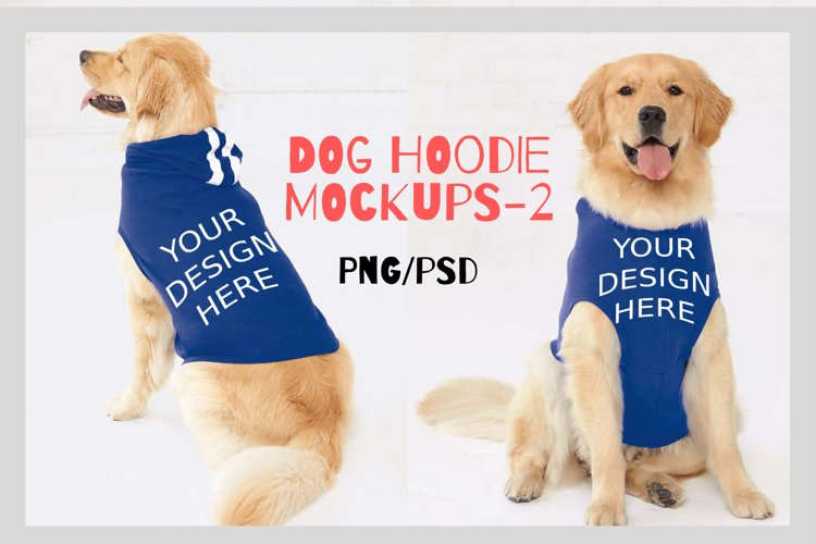 Dog Hoodie Mock Ups - 2|Png&Psd|1080x1458px example image 1