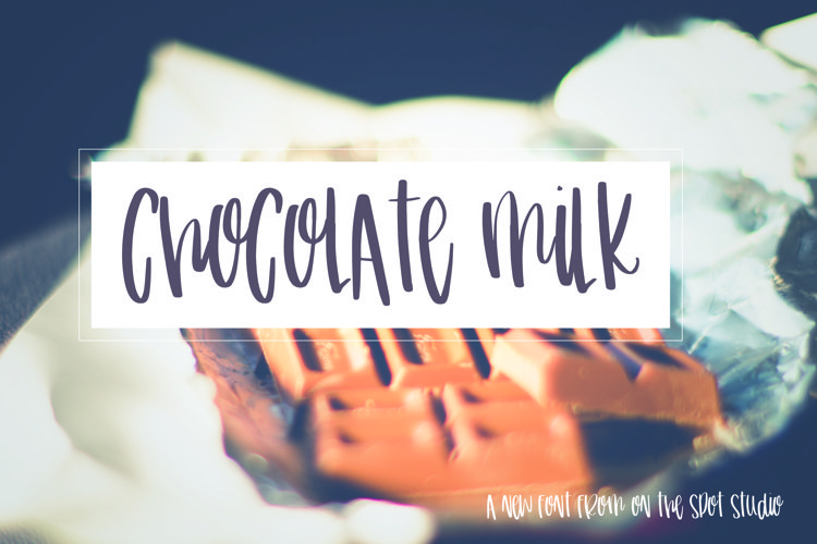 Chocolate Milk example image 1