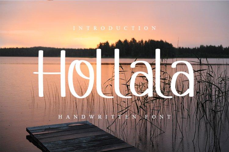 Hollala example image 1