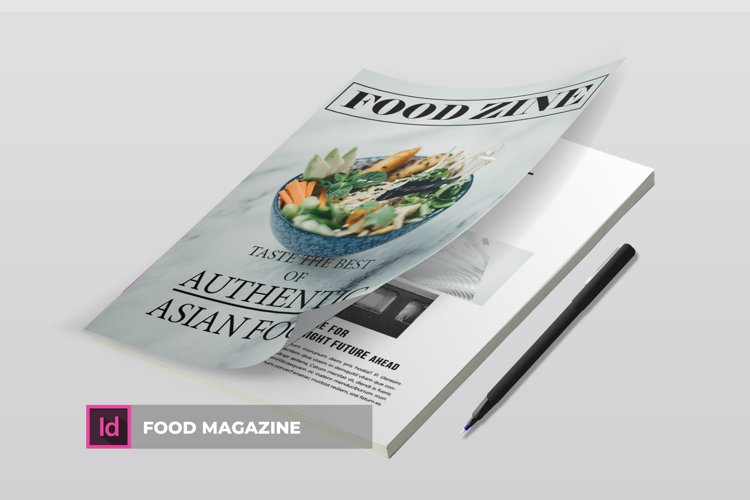 Foodzine | Magazine example image 1