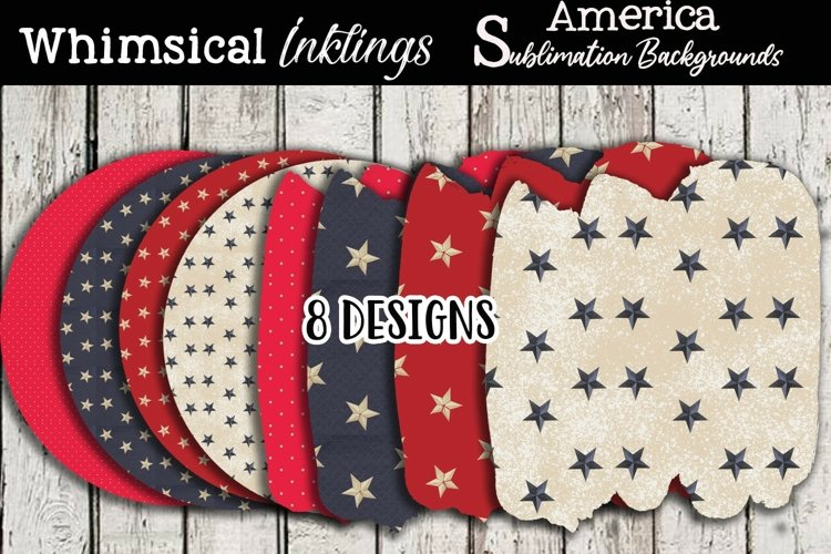 Americana Sublimation Backgrounds Pack example
