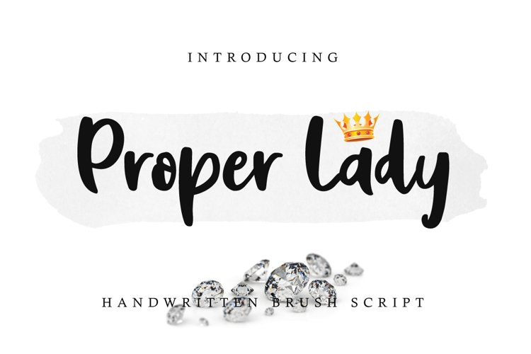 Proper Lady example image 1