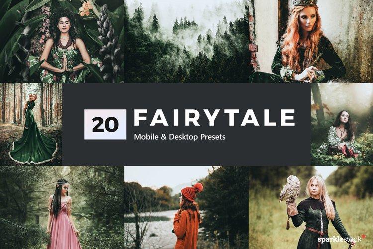 20 Fairytale Lightroom Presets & LUTs example image 1