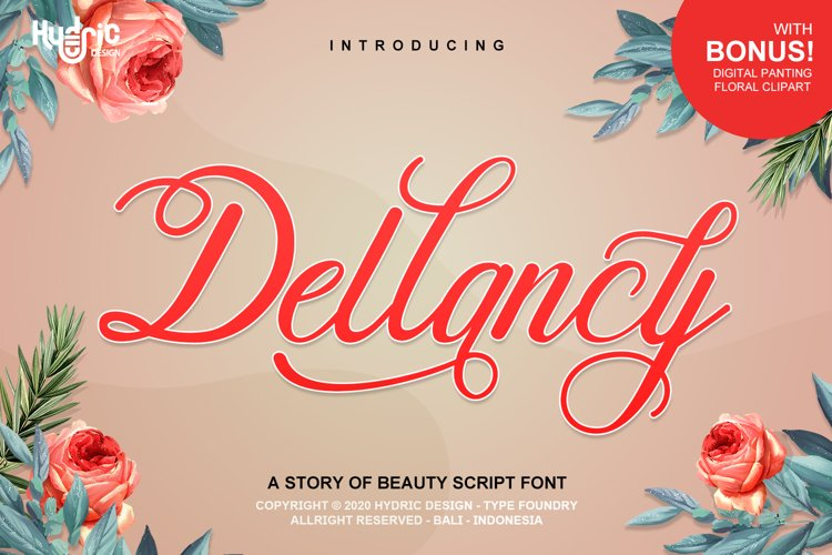 Dellancy - Beauty Elegant Calligraphy