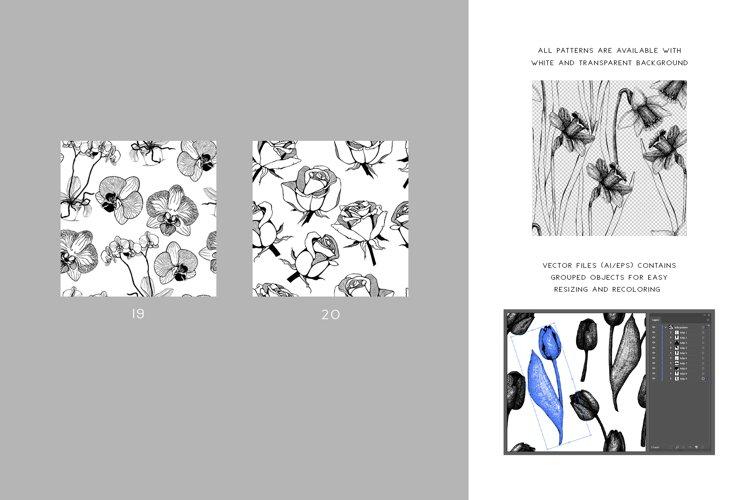 Floral Patterns Bundle example 3
