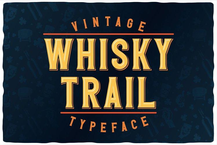 Whisky Trail Font Bundle