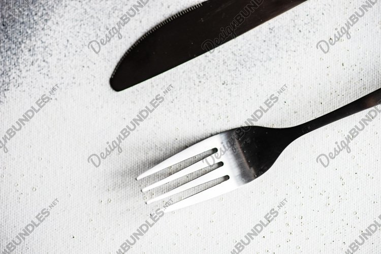 Rustic table setting example image 1