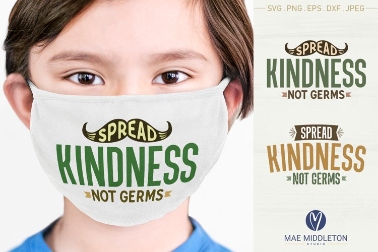 Spread Kindness SVG files, printables, sublimation example image 1