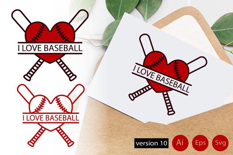 Download Invitation For Baseball Game I Love Baseball Svg Ai Eps 219086 Svgs Design Bundles