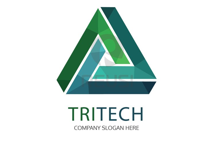 Tritech Logo Template example image 1