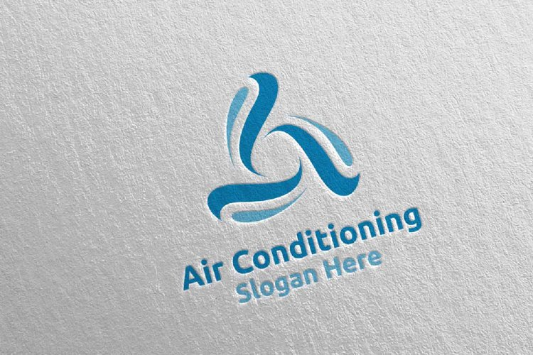 Air Conditioning and Heating Services Logo 10 example image 1