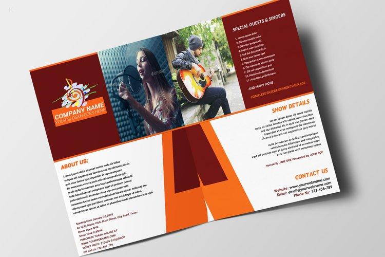 Music Festiva Bifold example image 1