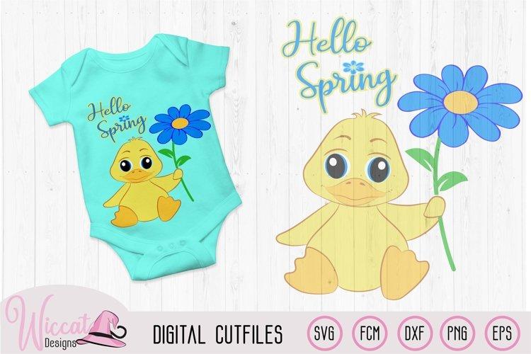 Boy duck svg, Hello spring Baby svg, svg files for boys,