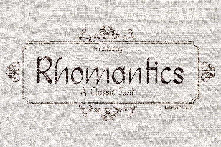 Rhomantics example image 1